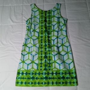 NWOT Plus Size Color Block Design Dress